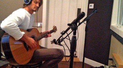 Recording solo guitar
